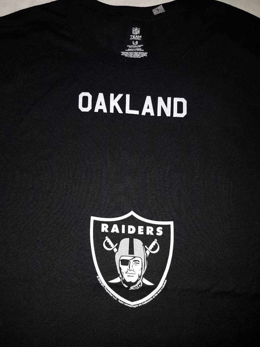 Playeras Raiders Oakland Nfl Oficial Original -   175.00 en Mercado ... d2b61d88929