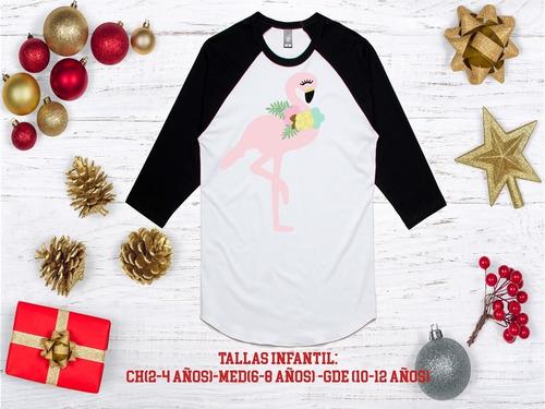 playeras ranglan, unicornio, navidad niñas (os) mod 108