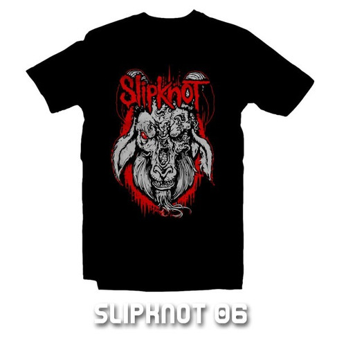 playeras slipknot - 9 diseños disponibles !