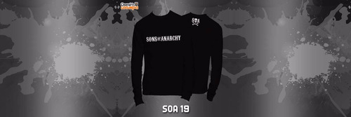 playeras sons of anarchy soa manga larga - 19 modelos disp!!