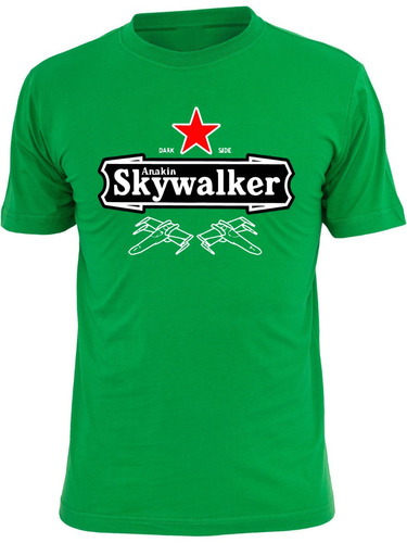 playeras star wars de colección darth vader luke skywalker