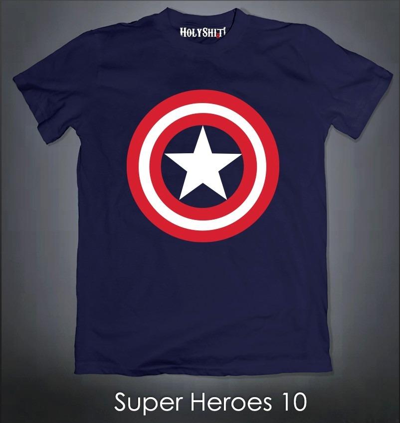 Playeras Super Heroes Batman Vs Superman Flash Capitan 21783dcfaf088