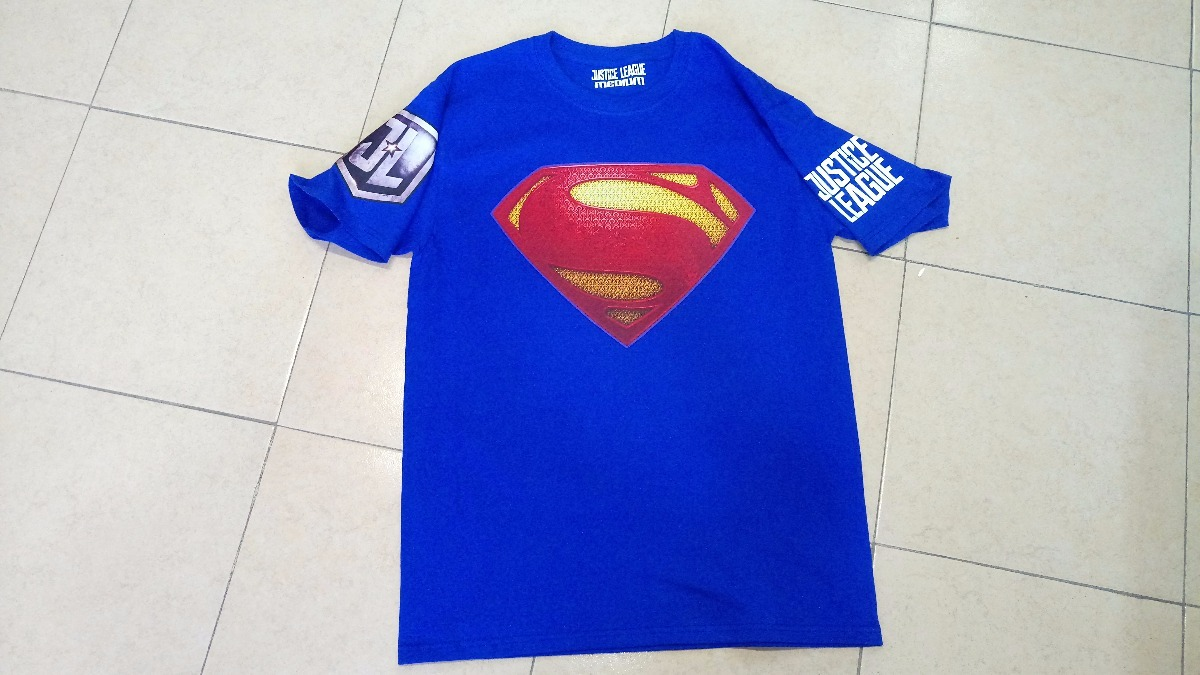 bde6d5716fe Playeras Superheroes Liga De La Justicia Todos Los Modelos