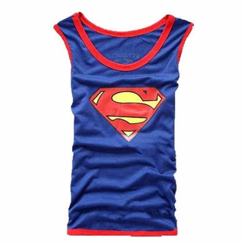 playeras tank superman gym