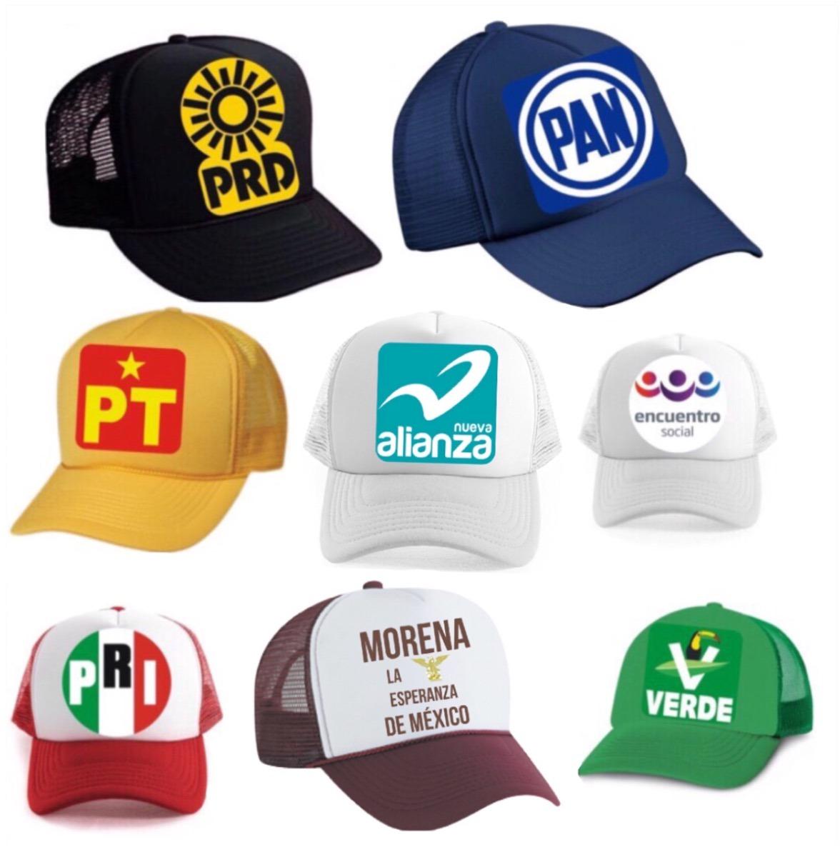 Playeras Y Gorras Para Campañas Politicas -   20.00 en Mercado Libre 6a72f30aaba