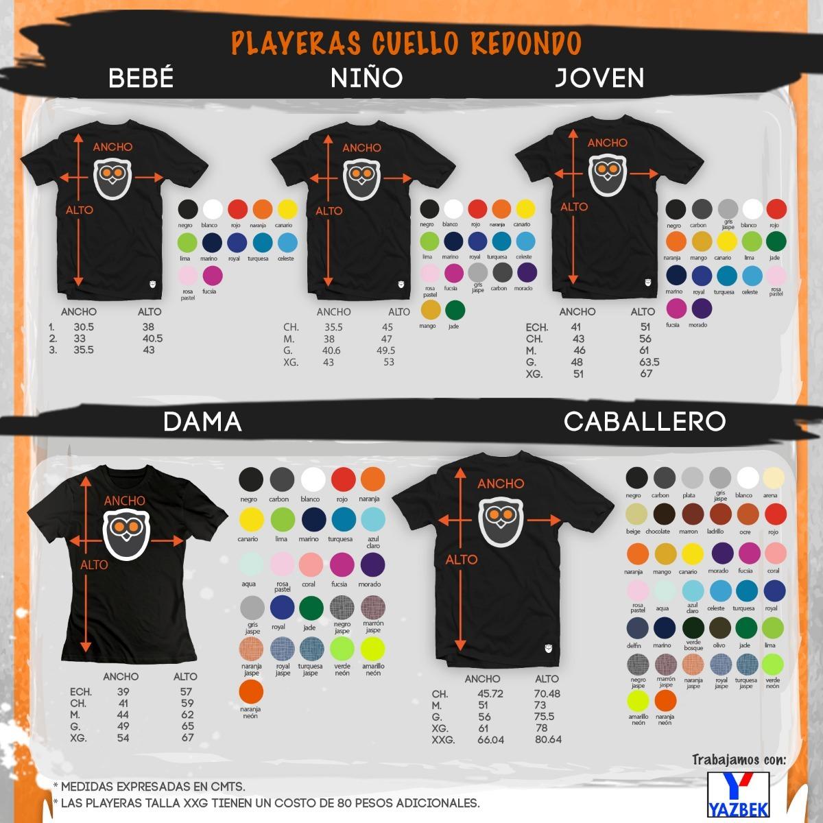 90dbc3b6af5ee playeras yazbek originales algodon 40 colores disponibles!!! Cargando zoom.