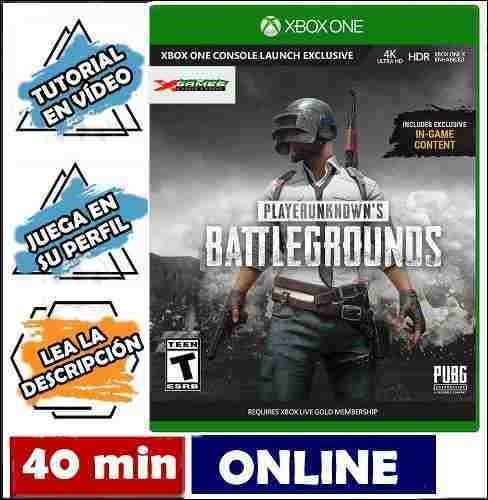 playerunknown's battlegrounds completa /*xbox one*/ offline
