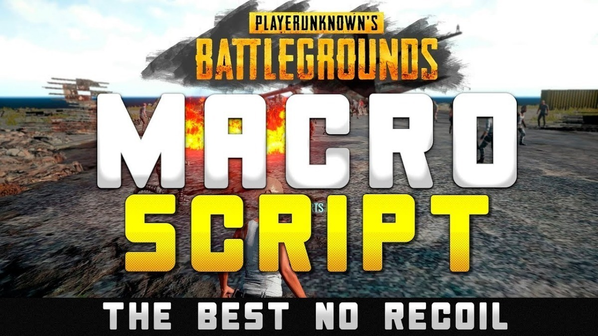 Playerunknowns battlegrounds no recoil macro | [Active] PUBG no