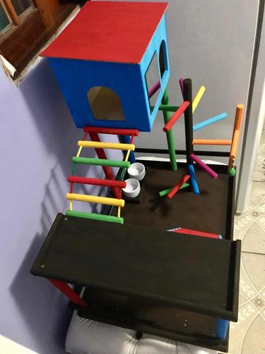playgrounds para aves petz
