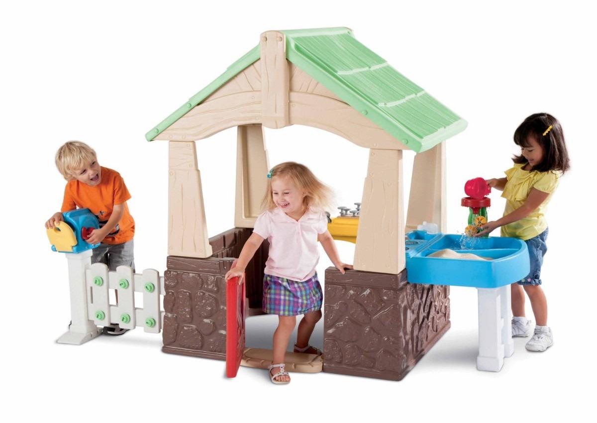 Playhouse casa y jardin casita de juegos deluxe accesorios for Casita de juegos para jardin