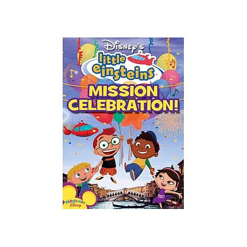 playhouse disney little einsteins: misión celebración de dvd