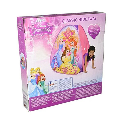 playhut disney princess classic hideaway playhouse, rosa