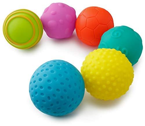 Playkidz  Super Durable Paquete De 6 Bolas Sensoriales 15615ff44675