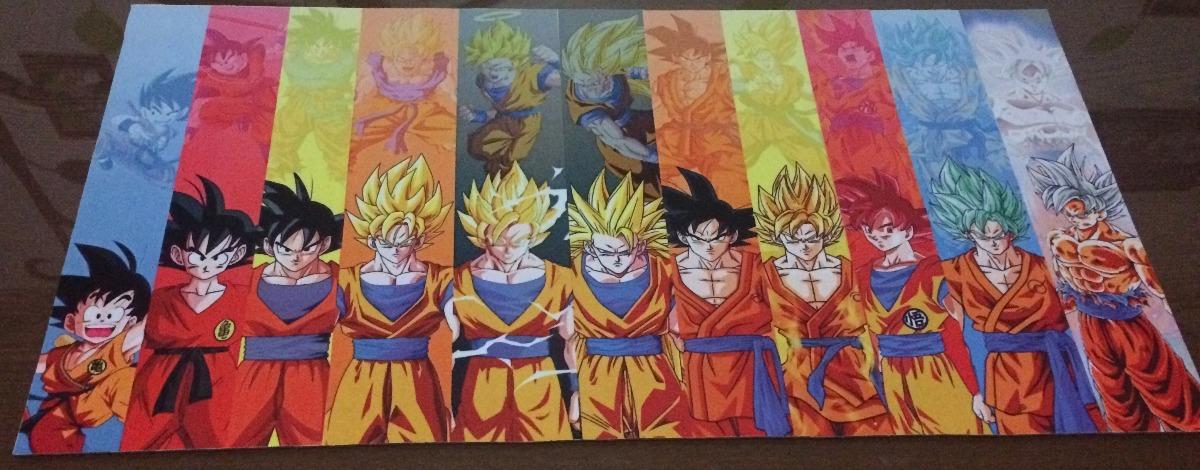 Imagenes De Fases De Goku: Playmat Dragonball (fases De Goku)