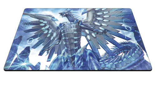 playmat yugioh chaos max blue eyes white dragon personalizad