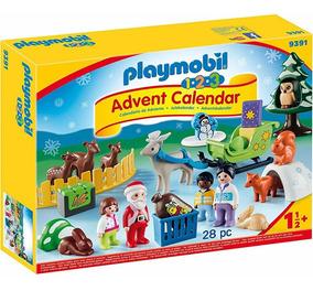 3 Bosqu En Navidad Adviento Calendario De El 1 2 Playmobil 54jL3AR