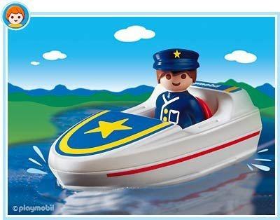 playmobil 1,2,3 guarda de busca  e salvamento 6720