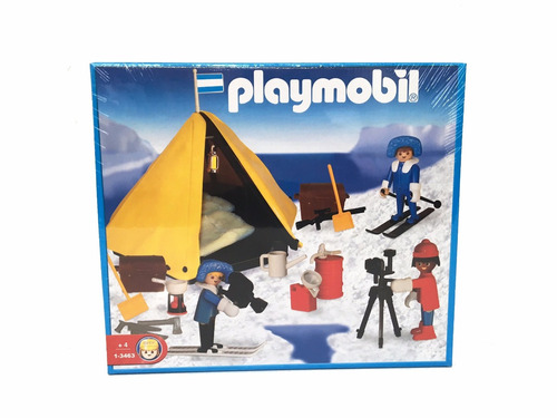playmobil 3463 campamento explorador polar original antex