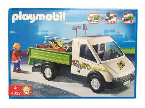playmobil 4322 caminhão carpinteiro pickup geobra