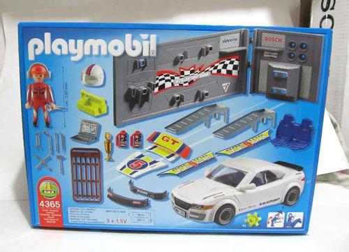 playmobil 4365 auto tuning con luces carrera nuevo coleccion