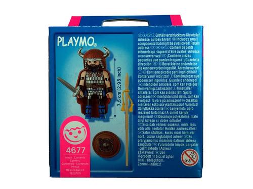 playmobil 4677 special chefe bárbaro geobra