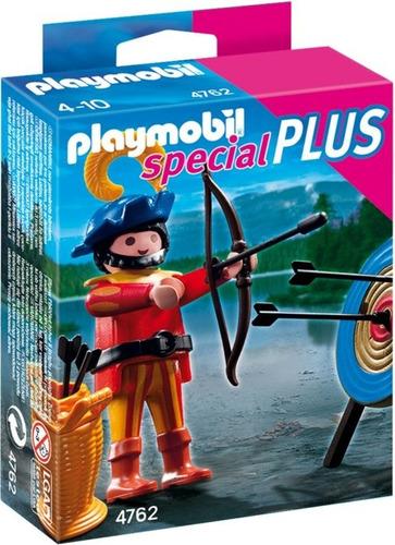 playmobil 4762 s plus arquero y tiro al blanco deep blue2011