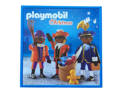 playmobil 5040 ajudantes do papai noel christmas geobra