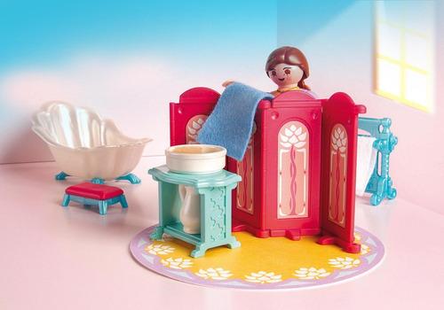 playmobil 5147 banho vitoriano - princess geobra
