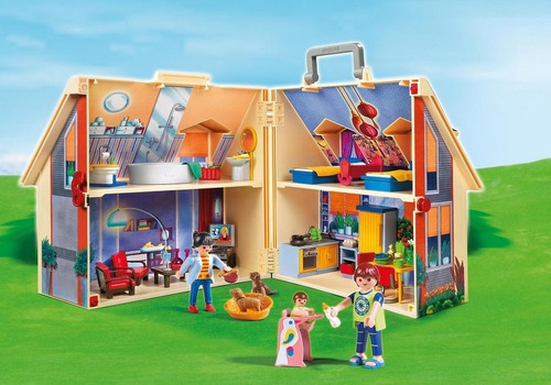 playmobil 5167 casa de bonecas maleta - playmobil 1766