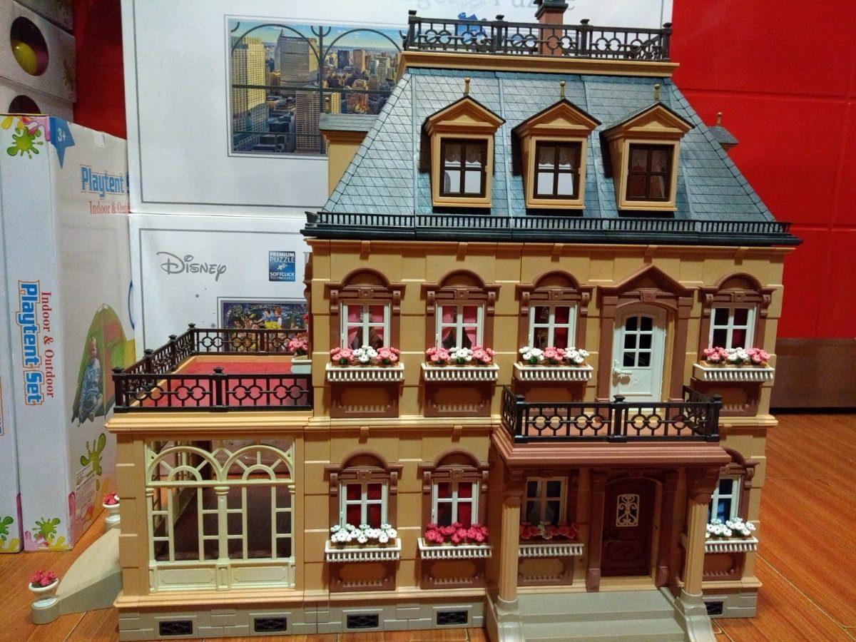 Playmobil 5300 mansion victoriana 6 en mercado for Mansion de playmobil