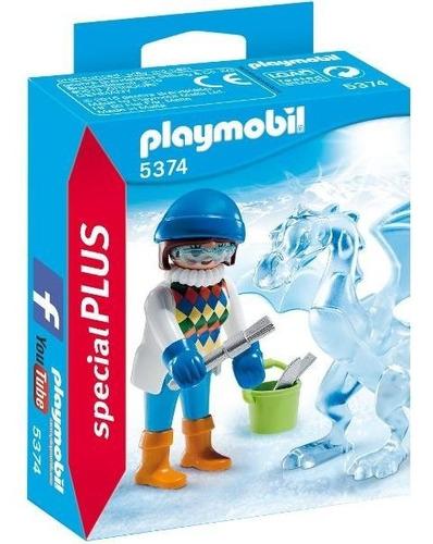 playmobil 5374 special plus escultora de hielo nuevo bigshop