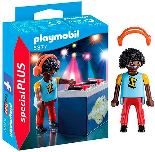 playmobil 5377 special plus dj pasa musica c/ acces bigshop