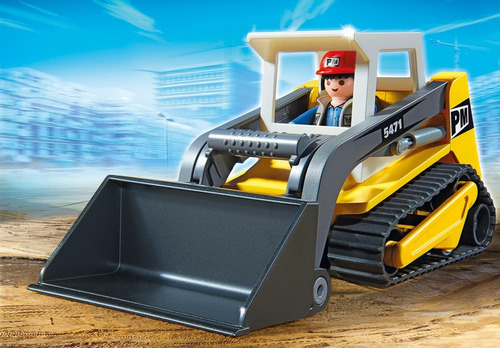 playmobil 5471 excavadora city action