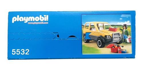 playmobil 5532 carro da veterinária city life geobra