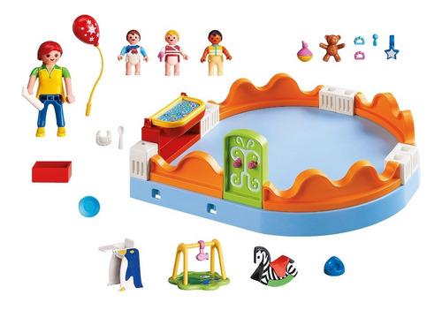 playmobil 5570 área dos bebês city life geobra