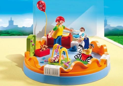 playmobil 5570 guarderia zona de bebes original