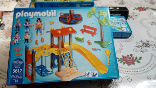 playmobil 5612 parque de diversion para niños