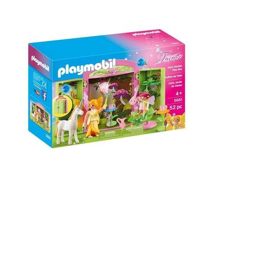 playmobil 5661 cofre jardín de hadas