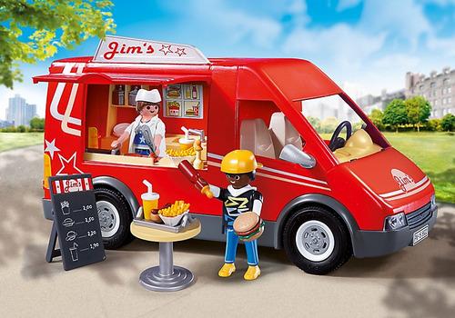 playmobil 5677 carro de comida rápida rosquillo tos