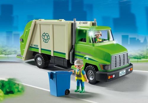 playmobil 5679 reclycling truck