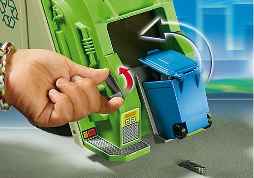 playmobil 5938 camion recolector  jugueteria bunny toys