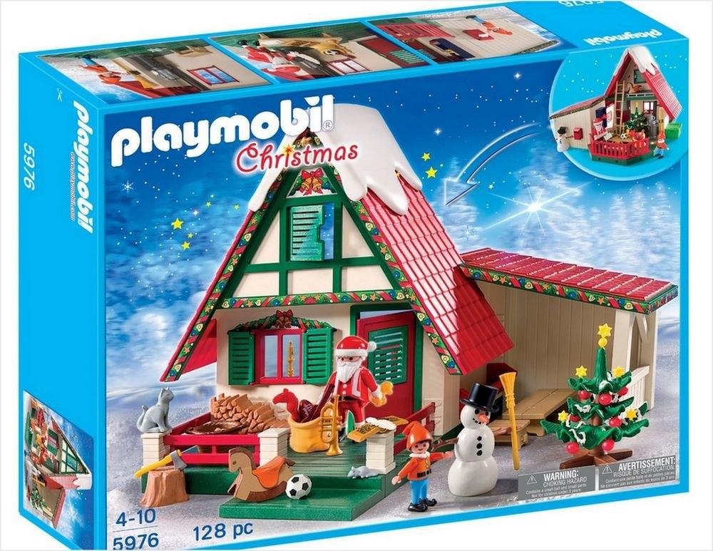 playmobil 5976 casa de pap noel 1 en mercado libre
