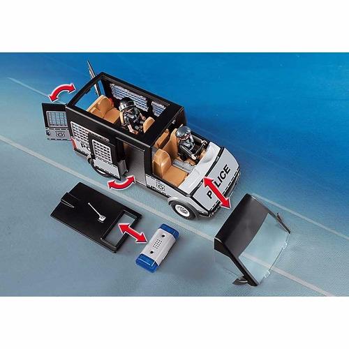 playmobil 6043 camioneta especial de policia - mundo manias