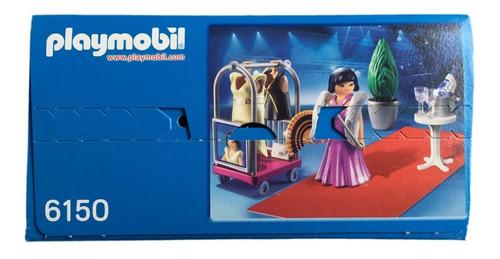 playmobil 6150 diva no tapete vermelho city life geobra