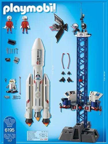 playmobil 6195 plataforma de lanzamiento