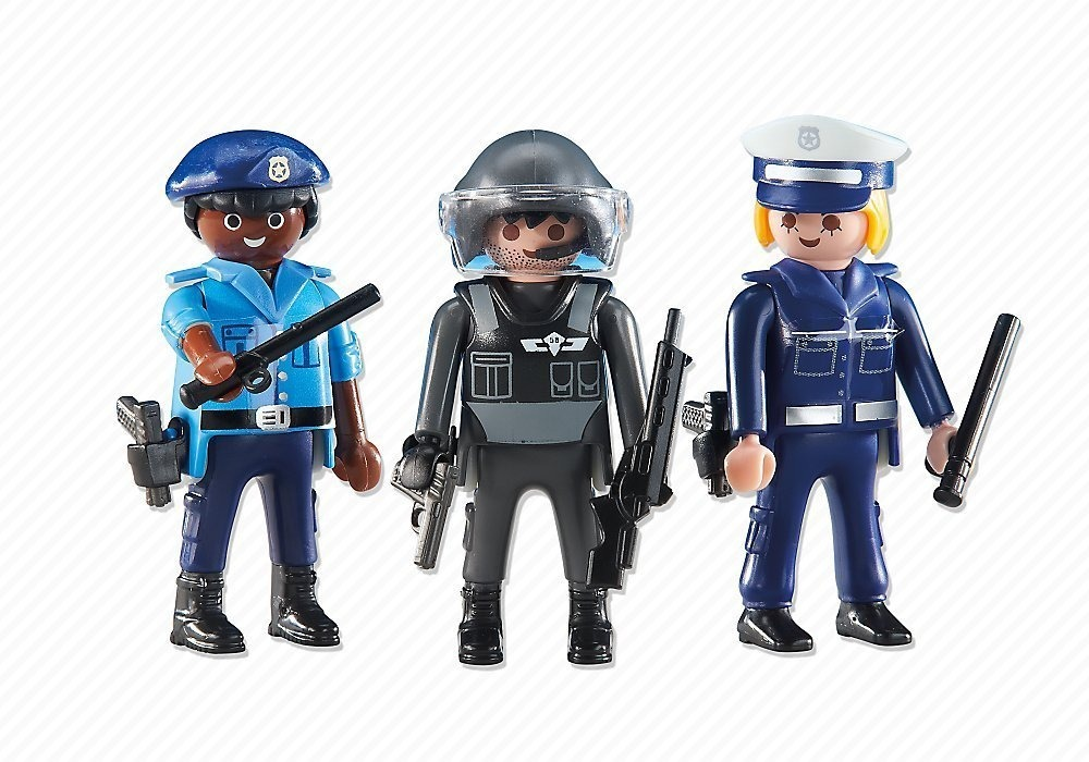 playmobil 6501 add on 3 police officers r 220 00 em mercado livre