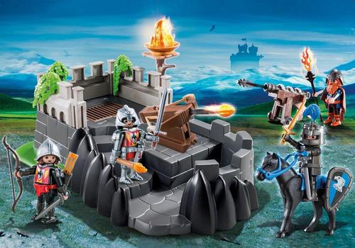 playmobil 6627 fortaleza dragon's knights geobra