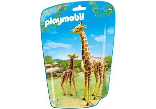 playmobil 6640 jirafa con bebe