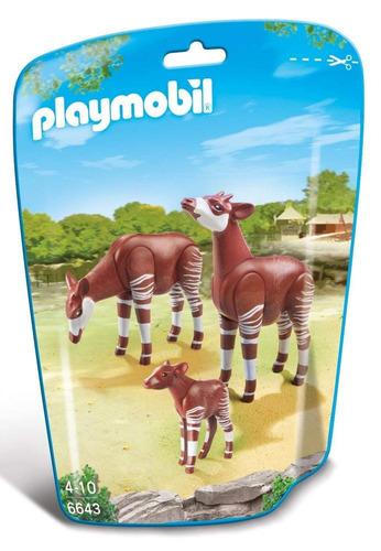playmobil 6643 okapi family