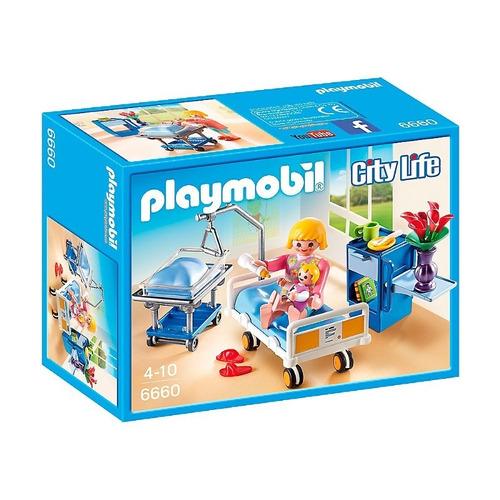 playmobil 6660 quarto de maternidade